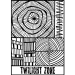 Helen Breil Texture Stamp - Twilight Zone