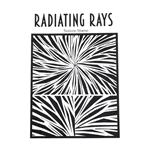 Helen Breil Texture Stamp - Radiating Rays