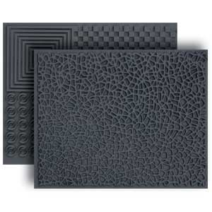 Lisa Pavelka Texture Set - Crackle & Checkerboard