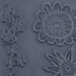 Christi Friesen Texture Stamp - Drama Blooms