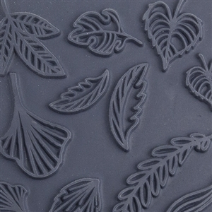 Christi Friesen Texture Stamp - Lovely Leaves