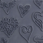 Christi Friesen Texture Stamp - Heartz