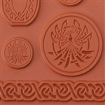 Wanaree Tanner Texture Plate - Special Edition Celtic Phoenix