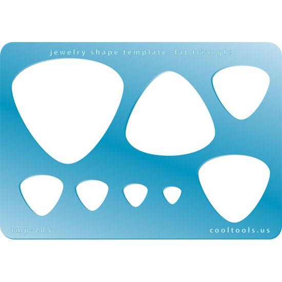 Jewelry Shape Template Mini French Curve 06 Cool Tools