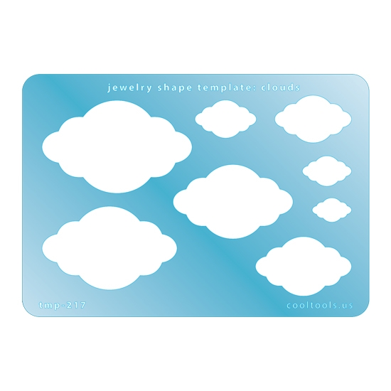 Jewelry Shape Template Clouds Cool Tools