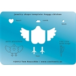 Jewelry Shape Template - Huggy Chicken