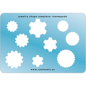 Jewelry Shape Template - Steampunk