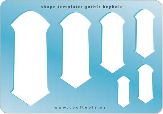 jewelry shape template arrows cool tools