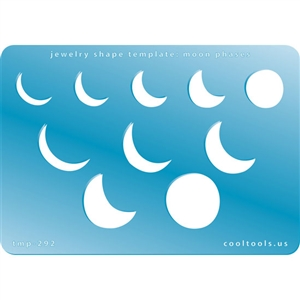 Jewelry Shape Template - Moon Phases