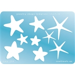 Jewelry Shape Template - Starfish
