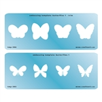 Embossing Template Set - Butterflies 1