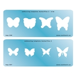 Embossing Template Set - Butterflies 2