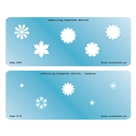 Embossing Template Set - Daisies