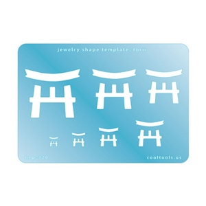 Jewelry Shape Template - Torii
