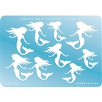 Jewelry Shape Template - Mermaids
