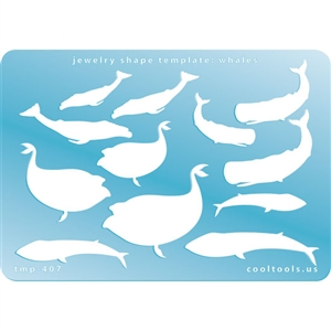 Jewelry Shape Template - Whales
