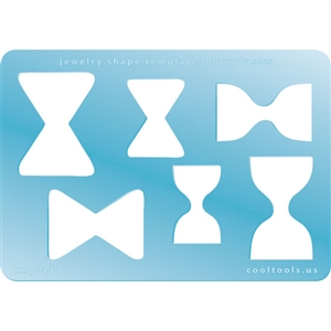 Jewelry Shape Template - Hourglasses