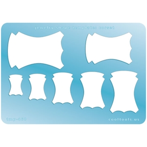 Jewelry Shape Template - Corset