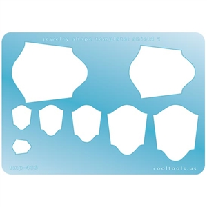 Jewelry Shape Template - Shield 1