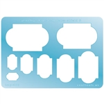 Jewelry Shape Template - Shield 5