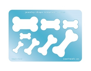 Jewelry Shape Template - Bones