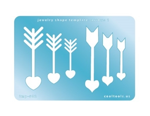 Jewelry Shape Template - Arrows 1