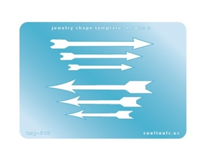 Jewelry Shape Template - Arrows 2