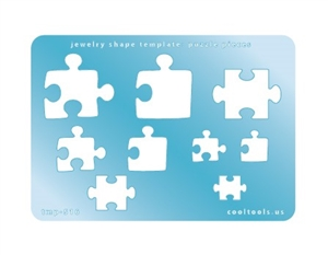 Jewelry Shape Template - Puzzle Pieces