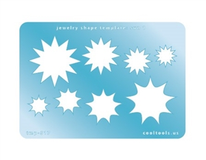 Jewelry Shape Template - Sun 1