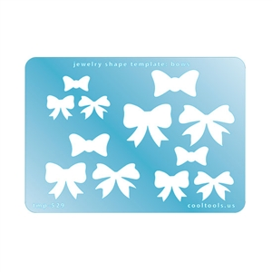Jewelry Shape Template - Bows