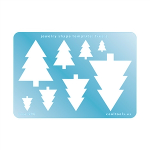 Jewelry Shape Template - Tree 2