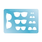 Jewelry Shape Template - Sunglasses