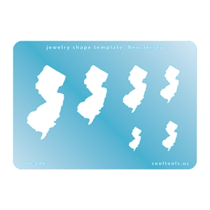 Jewelry Shape Template - New Jersey