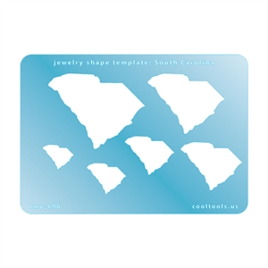 Jewelry Shape Template - South Carolina