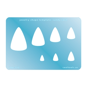 Jewelry Shape Template - Candy Corn