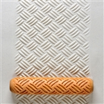 Large Hand Roller - Diagonal Basketweave
