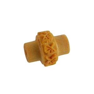 Wooden Mini Roller - Gingko Leaves 5mm