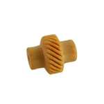 Wooden Mini Roller - Right Slanted Lines 5mm