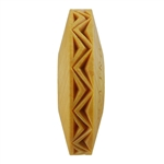 Wooden Finger Roller - Zig Zag 8mm