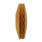 Wooden Finger Roller - Braid 8mm