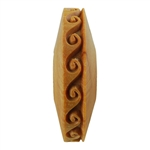Wooden Finger Roller - Waves 8mm