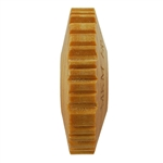 Wooden Finger Roller - Bar Code 8mm