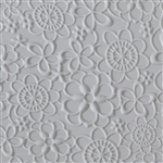 Texture Tile - Floral Web Embossed