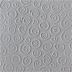 Texture Tile: Spirals Mini Embossed