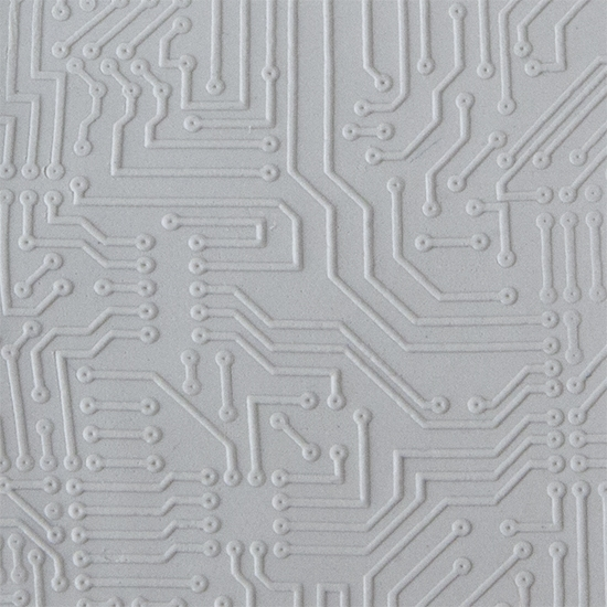 Texture Tile | Circuit Board Fineline Mat | Cool Tools