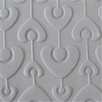 Texture Tile - Heart Strings Embossed