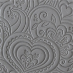 Texture Tile - Blooming Hearts