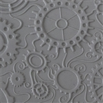 Texture Tile - Steampunk Swirl Embossed