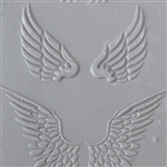 Texture Tile: Angel Wings Embossed