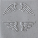 Texture Tile: Natural Wings Embossed